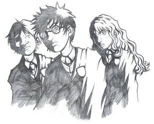 Harry Potter Fanart by skmonteiro