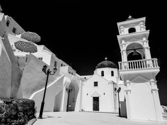Santorini by Runfox