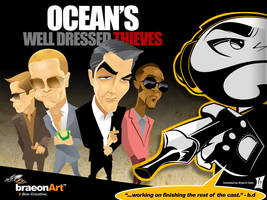 Ocean's Well Dressed Thieves by braeonArt
