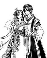 [Escaflowne] Newlyweds by fayrinn