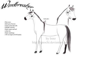 Windbreaker Sheet V.1.0 by Innochi