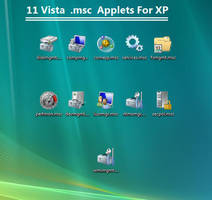 Vista Console Applets for XP by Picassa243