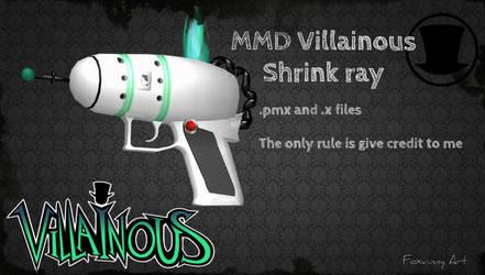 MMD Villainous shrink ray [DL] by Foxvinny-art