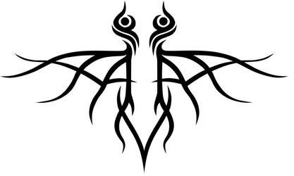 Tribal Logo Design by Damien-X