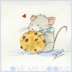 I love my Cookie by yuki-the-vampire