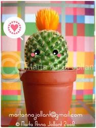 Theodore the Rebel Cactus by yuki-the-vampire