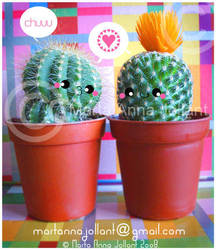 Cactus Brothers by yuki-the-vampire