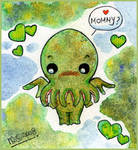 Cthulhu Chibi by yuki-the-vampire