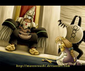 Zant and Zelda by Mutenroushi