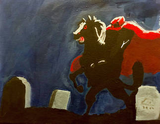 The Headless Horseman by FlamboyantPheonix