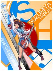 Suzumiya Haruhi by DivineKaze