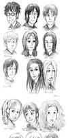 Marauder's and Harry's years by batteryfish