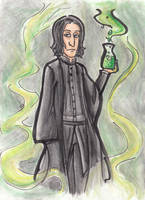 The Potions Master by batteryfish