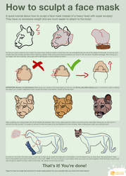 How to sculpt a head / face mask by LimitlessEndeavours