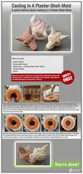 Plaster Shell Casting Tutorial by LimitlessEndeavours