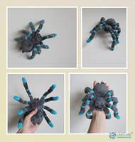 Tarantula Plush by LimitlessEndeavours