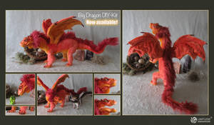 Big Dragon DIY-Kit SOLD OUT by LimitlessEndeavours