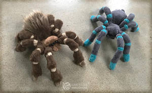 Tarantula Sewing Pattern and Tutorial by LimitlessEndeavours