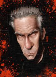 David Cronenberg by Parpa