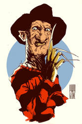 Freddy Kruegger by Parpa