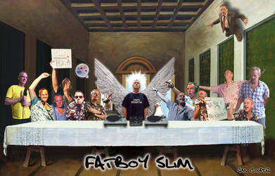 Fatboy Slim - The Last Supper by yume-ryuu