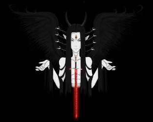 The Fallen Angel Samael by yume-ryuu