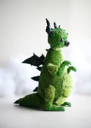 green friendly dragon by da-bu-di-bu-da
