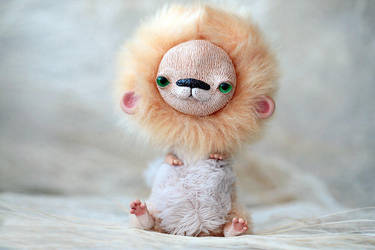 little lion by da-bu-di-bu-da