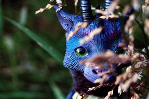 forest dragon hiding by da-bu-di-bu-da