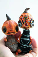 monster pumpkins by da-bu-di-bu-da