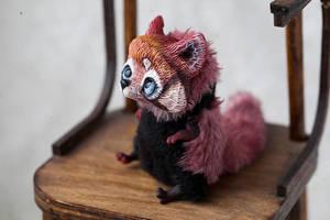 red panda by da-bu-di-bu-da