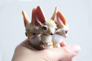 foxes by da-bu-di-bu-da