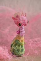 giraffe in bloom by da-bu-di-bu-da