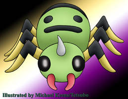 Pokemon 167 Spinarak by Tetsubo