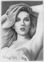 Scarlett Johansson 1 by Hong-Yu