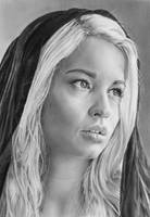 Pencil portrait of Georgia by LateStarter63