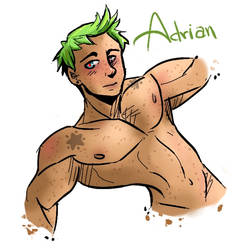 NEW OC - ADRIAN by LRFL