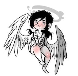 lonely Angel by LRFL