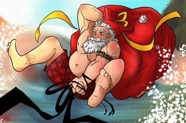 Summer Santa by LRFL