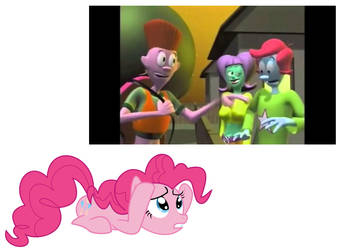 Pinkie Pie's Reaction to The Groovenians by MaxEd32