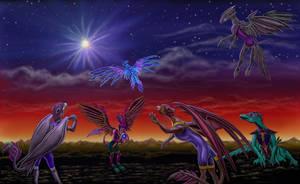 Guardians Prayer by Waylien