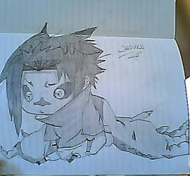 chibi sasuke by hikaru444