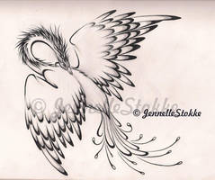phoenix tattoo by Canned-Beans