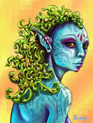 Amphitrite - colored by Canned-Beans
