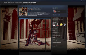 Attack On Titan Themed Steam Profile design by yolokas