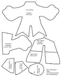 Basic Plush Pattern1 by plushabilities