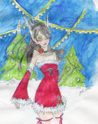 WOW- Christmas elf by Mew16