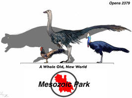 Mesozoic Park Poster by Midiaou