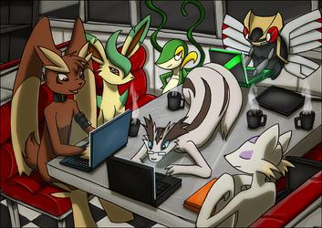 Internet Cafe by kitfox-crimson
