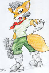Fox McCloud roxorz by kitfox-crimson